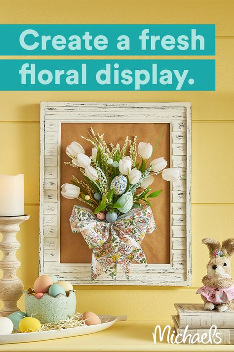Find ideas and supplies for all your floral and Easter projects at Michaels.