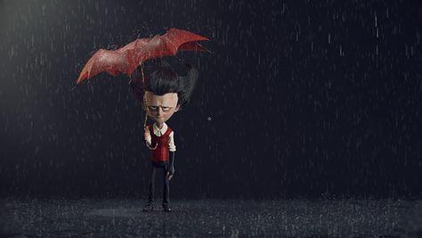Rain Test #01 by Vitorugo Queiroz, via Behance