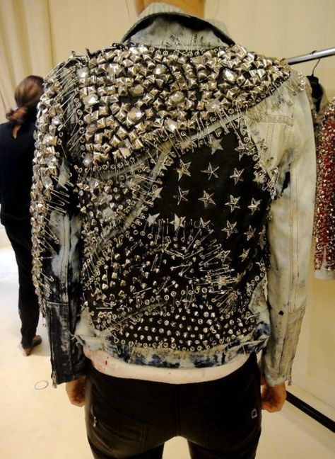 Balmain Studded Denim Jacket from s/s 2011