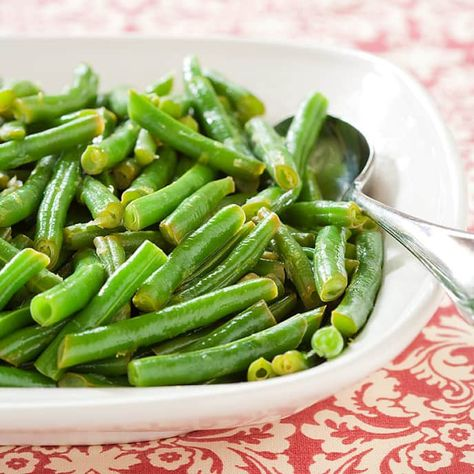 Lemony Green Beans | Cook's Country