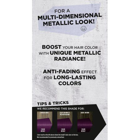 Beauty Hair Color Permanent Hair Color Metal