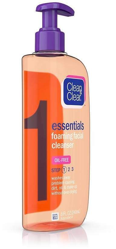 Clean Clear Essentials Foaming Facial Cleanser Skin Care Routine Budget Friendly Drugsto Foaming Facial Cleanser Facial Cleanser Skin Cleanser Products
