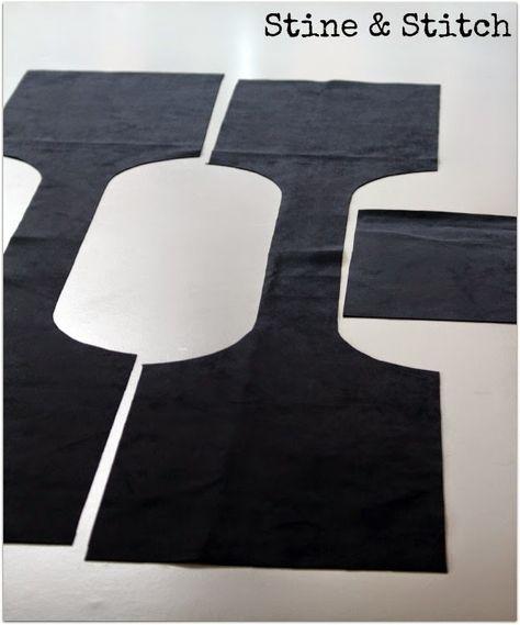 Auf dem Blog Rhonda´s Creative Life , habe ich einen tollen Taschenschnitt gefunden. Die lässige Ledertasche besteht aus nur drei Teilen und...