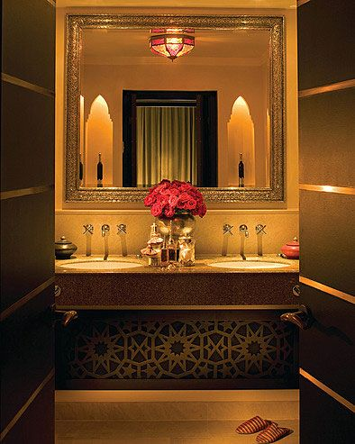 Collection des plus belles salles de bain style oriental Oriental