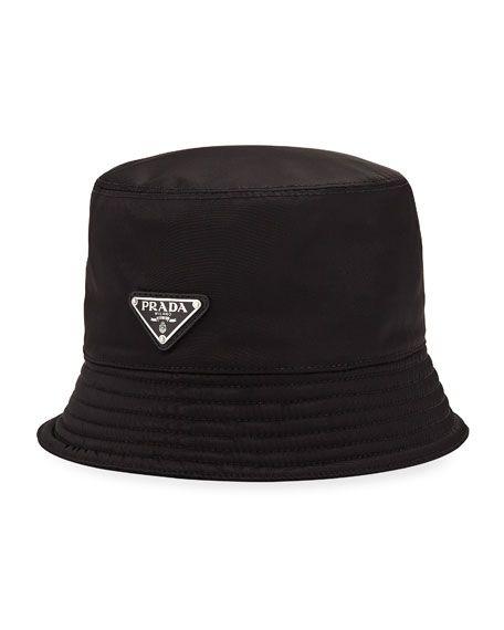 c45b858f PRADA MEN'S NYLON BUCKET HAT WITH LOGO. #prada | Prada | Prada men ...