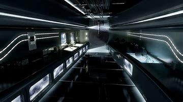 Image result for Sci-Fi Computer Lab   Futuristic interior ...