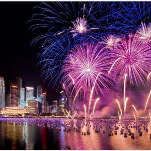 New Year Eve Fireworks Wallpaper  new year eve fireworks