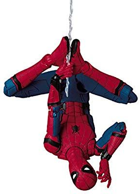 Amazon Com Mafex Mafex No 047 Spider Man Homecoming Version Third Production Overall Height About 150 Mm Abs Atbc Spiderman Marvel Coloring Spider Man 2018