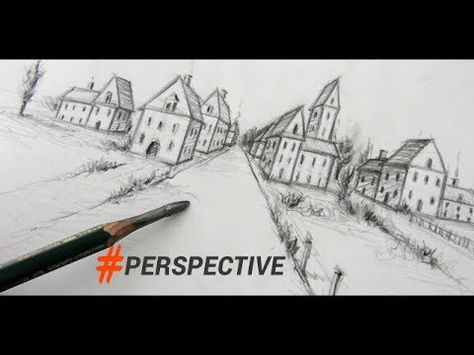 How to Draw the Head and Face from an Angle - YouTube