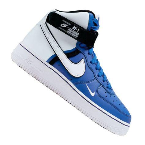 Nike Air Force 1 High LV8 2 Jr CI2164 400 shoes white blue