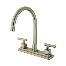 Elements Of Design Double Handle Kitchen Faucet Finish Chrome