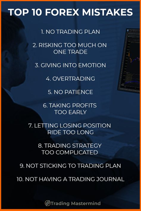 TOP 10 FOREX TRADER MISTAKES