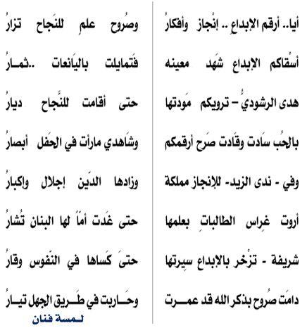 كلمة والد الطالبة فجر الهملاني على هامش مهرجان الجنادرية 27 للعام 1433هـ Math