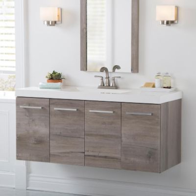 Importance Of Bathroom Vanity Cabinets With Images Floating