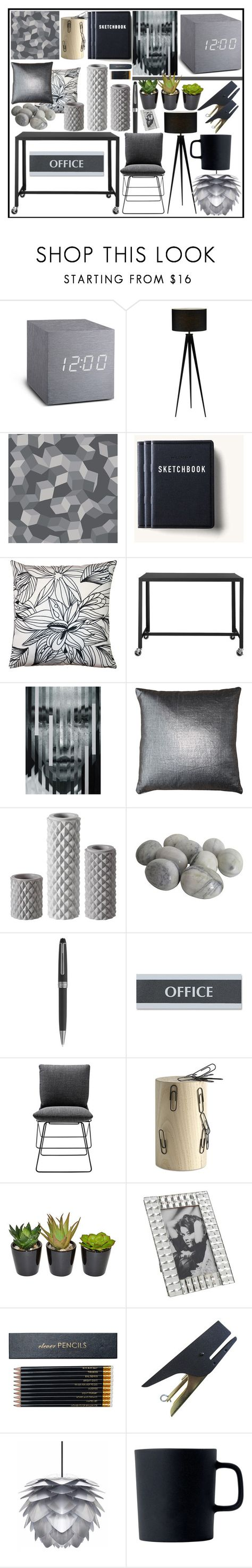 """Untitled #662"" by atarituesday ❤ liked on Polyvore featuring interior, interiors, interior design, home, home decor, interior decorating, Cole & Son, Tanner Goods, Pillow Decor and CB2"