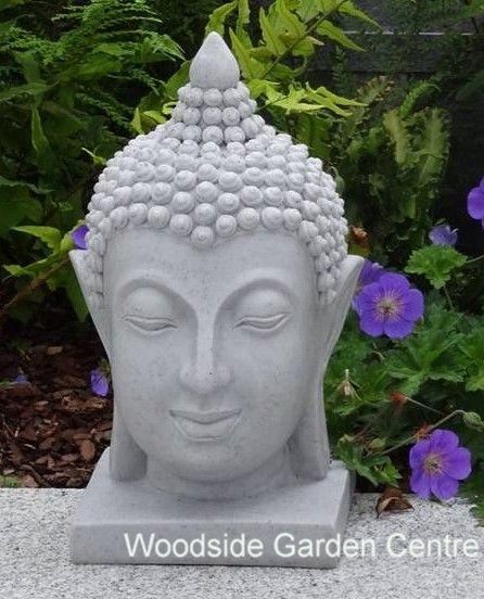 Good Small Granite Resin Thai Buddha Head Home Or Garden Ornament | Woodside  Garden Centre | Pots To Inspire | Pinterest | Buddha Head, Garden Ornaments  And ...