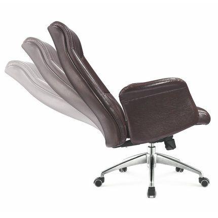 Superb Classic Adjustable Leather High Back Boss Executive Office Machost Co Dining Chair Design Ideas Machostcouk