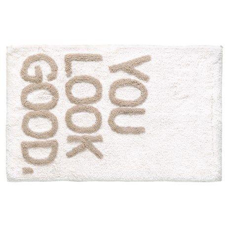 Madison White Cloud You Look Good Bath Rug Bath Rug Best Bath White Cloud