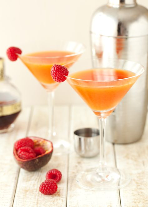 The Blushing Cuban - A Passionfruit & Raspberry Cocktail