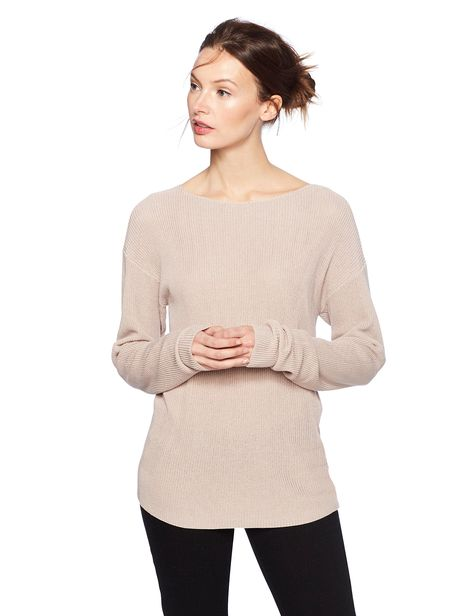 667593370d2eeb Cable Stitch Womens Boat Neck Sweater Large Lilac Fog -- Check this awesome  product by going to the link at the image. (This is an affiliate link)