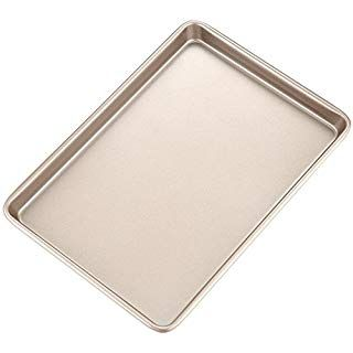 Chefmade 15 Inch Rimmed Baking Pan Non Stick Carbon Steel Cookie Sheet Pan Fda Approved For Oven Roasting Meat Bread Jell Pizza Pastry Sheet Pan Baking Pans