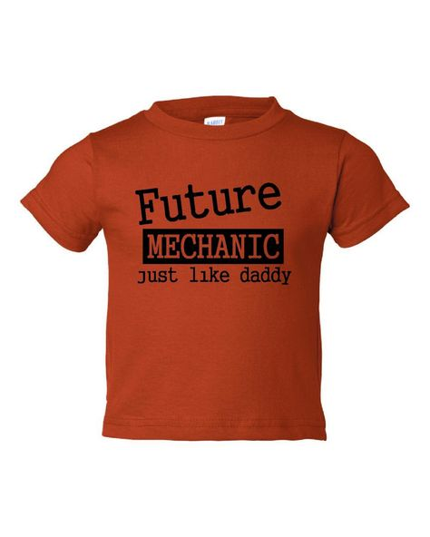 Future+Mechanic+Just+Like+Daddy+Children+Toddler+by+RegionRags,+$15.45