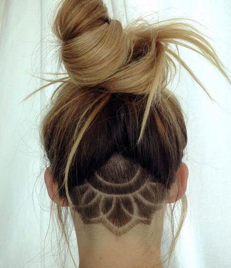 Undercut Haarschnitt Mode Bei Frauen Frauen Haarschnitt
