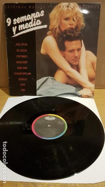 B S O 9 Semanas Y Media Lp Capitol Records 1986 Mbc Discos De Vinilo John Taylor Corey Hart