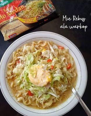 Mie Rebus Ala Warkop Resep Masakan Masakan Simpel Resep Makanan Sehat