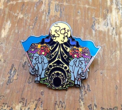 dbb02f26f49 Parade Into Centuries Bassnectar Hat Pin by RancidLotusArt on Etsy