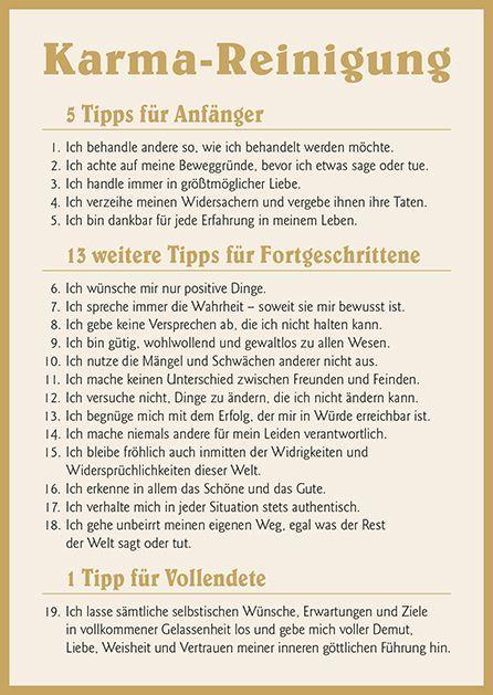 Poesie-Postkarte 100_Karma-Reinigung  #karma #poesie #postkarte #reinigung