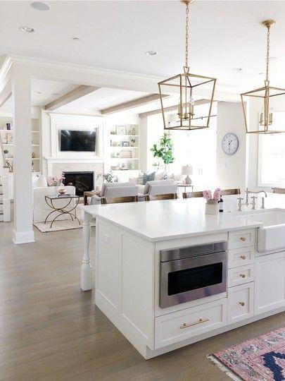 28 Elegant White Kitchen Design Ideas For Modern Home Kitchen