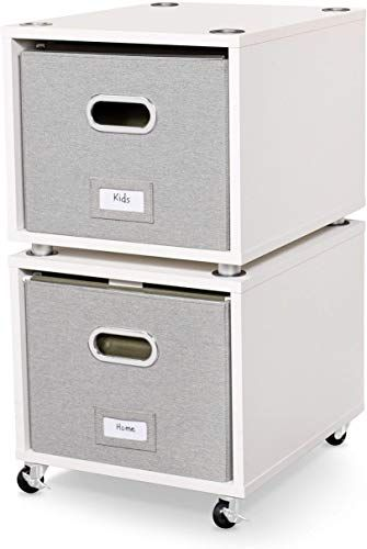 Enjoy Exclusive For Birdrock Home Rolling File Cabinet 2 Lateral Drawers Decorative Storage Shelf Blankets Books Files Magazines Toys Removable Bin H In 2020 Decorative Storage Filing Cabinet Storage Shelves