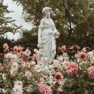 Art Statue, Flower Garden Statues