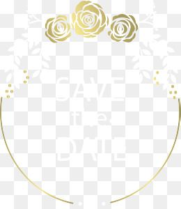 Vector Png Wedding Invitation Card Golden Lines Golden Rose Rose Vine Invitation Gold Vector Border Vector Free Art Clip Art Vector Free