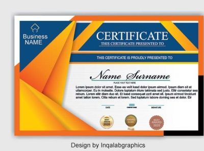 Certificate Design Templates Cdr File Free Download Certificate Design Template Certificate Design Vector Business Card