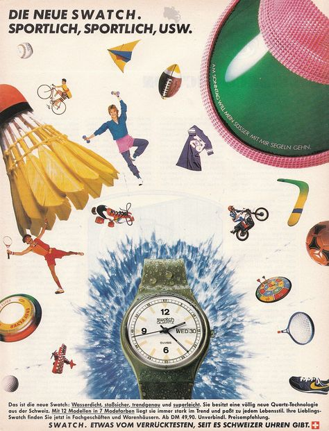 Old Swatch Ads from the