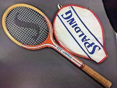 Vintage Spalding Rosie Casals Impact 332 Tennis Racquet In 2020 Tennis Tennis Racquet Spalding