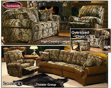 Tufted Sofa Camo furniture
