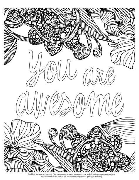Colouring The Stress Away Coloring Pages Quote Coloring Pages