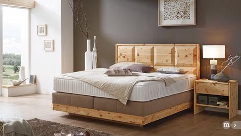 valnatura u2013 Boxspringbett (Zirbe) Schlafmöbel Pinterest - zirbenholz schlafzimmer modern