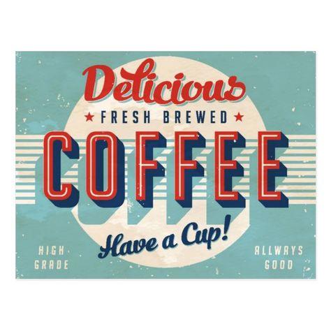 Vintage Kitchen Signs, Vintage Cafe, Vintage Metal Signs, Vintage Room, Vintage Diy, Vintage Coffee Signs, Antique Signs, Vintage Style, Cafe Sign