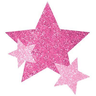 Pink Star Body Jewelry Halloween Costume Pink Pink Stars Glitter Stars Pink Star Background
