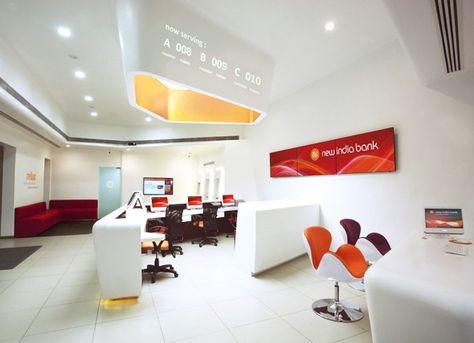 New India Bank Bank Branch Design Bank Interior Design