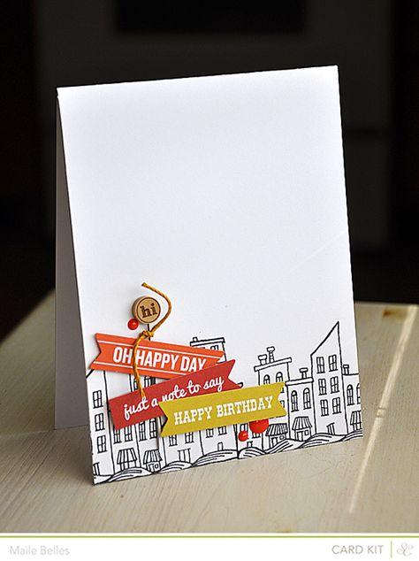 Happy Birthday Card {Studio Calico April Kit}