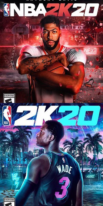 Here Are Your Nba 2k20 Covers Wade Got The Special Edition Ajheat Nba Nba Pictures Nba Jersey
