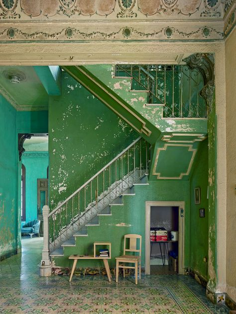michael eastman photo, cuba by shauna Interior Exterior, Interior Architecture, Cuban Architecture, Cuban Decor, Future House, My House, Hotel Paris, Varadero, Havana Cuba