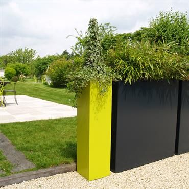 Brise vue jardin et déco en acier corten 30 idées splendides fences gardens and gates