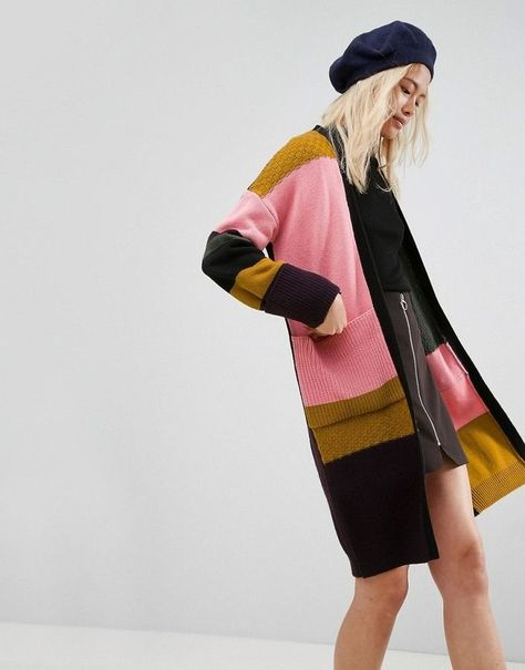 Shop for Cardigan In Maxi Length With Patchwork by Asos on ShopStyle. 36 Awesome Street Style Ideas To Copy Today – Shop for Cardigan In Maxi Length With Patchwork by Asos on ShopStyle.