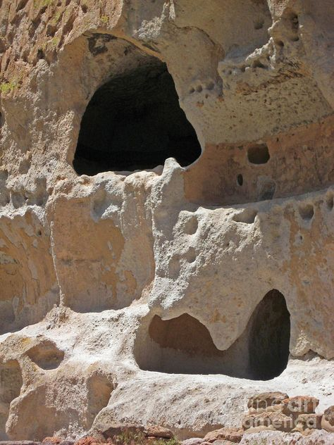 Rock Windows - Bandelier National Monument, New Mexico